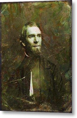 Handsome Fellow 2 Metal Print by James W Johnson
