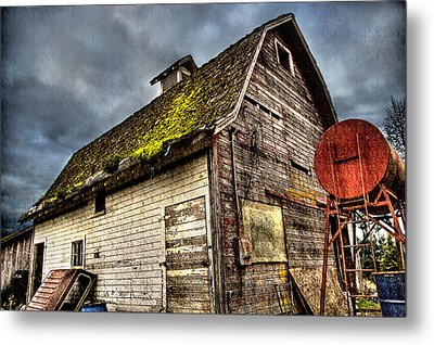 Handy Barn Metal Print