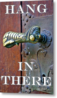 Hang In There Metal Print by Henry Kowalski