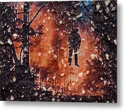Metal Print featuring the photograph Hang Man In Stone by Randy Sylvia