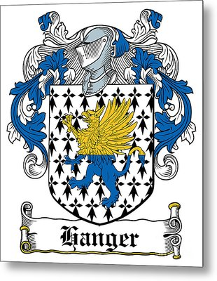 Hanger Coat Of Arms Irish Metal Print