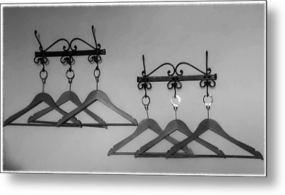 Hangers Metal Print by Dany Lison