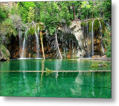 Hanging Lake 1 Metal Print by Ken Smith