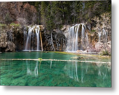 Metal Print featuring the photograph Hanging Lake by Jay Stockhaus