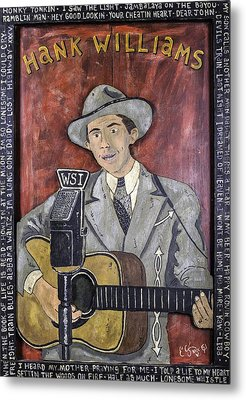 Hank Williams Metal Print