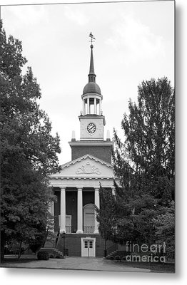 Hanover College Parker Auditorium Metal Print by University Icons
