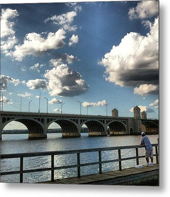 Metal Print featuring the photograph Hanover Street Bridge by Toni Martsoukos