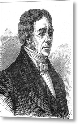 Hans Christian Oersted Metal Print by Collection Abecasis