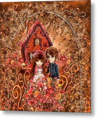 Hanzel And Gretel Metal Print by Mo T