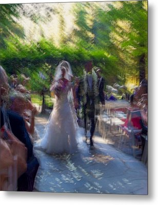 Metal Print featuring the photograph Happily Ever After by Alex Lapidus