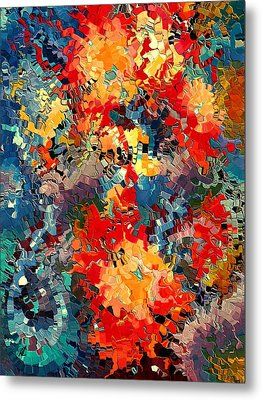 Happiness By Rafi Talby Metal Print by Rafi Talby