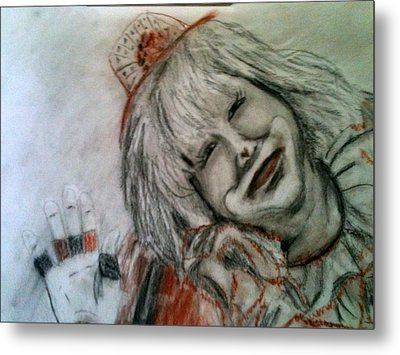 Happiness Is A Clown Metal Print