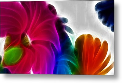 Metal Print featuring the digital art Happiness by Karen Showell