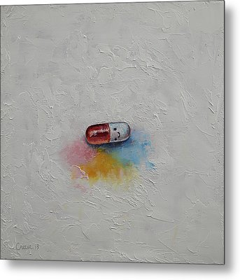 Happiness Metal Print by Michael Creese