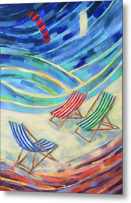 Happiness On Port Philip Bay 3 Metal Print