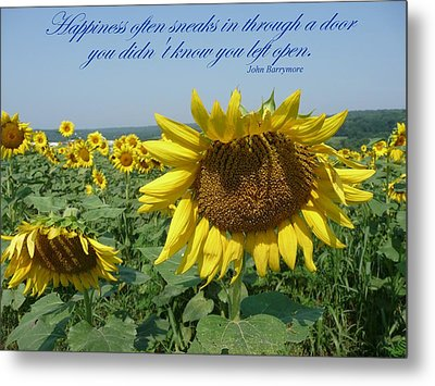 Happiness Metal Print