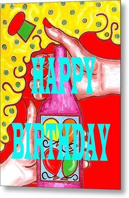 Happy Birthday 1 Metal Print by Patrick J Murphy