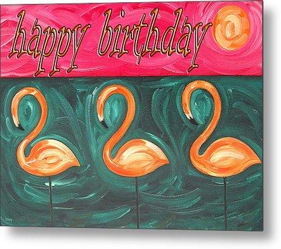 Happy Birthday 18 Metal Print by Patrick J Murphy