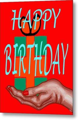 Happy Birthday 3 Metal Print by Patrick J Murphy