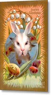 Happy Easter For All. Metal Print by Andrzej Szczerski