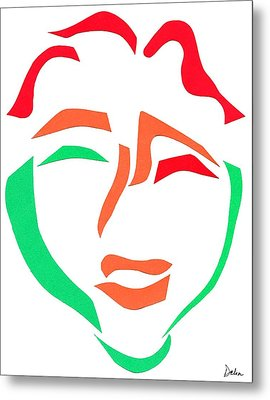 Happy Face Metal Print by Delin Colon