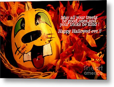 Metal Print featuring the photograph Happy Hallowed Eve by Gary Brandes