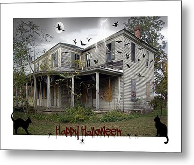 Happy Halloween Metal Print by Brian Wallace