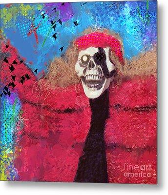 Happy Halloween Metal Print by Elena Nosyreva