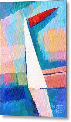 Happy Sailing Metal Print by Lutz Baar