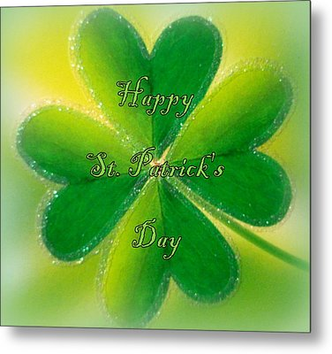 Happy St. Patrick's Day Metal Print