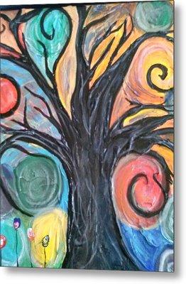 Happy Tree Metal Print by Sarah Dufner