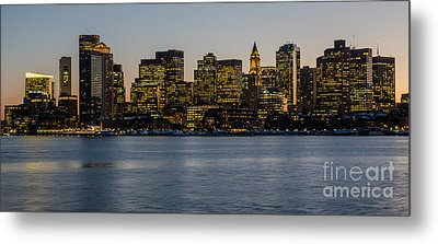 Harbor City Metal Print by Stephen Flint
