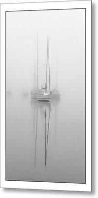 Harbor Fog No.1 Metal Print