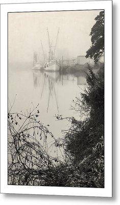 Harbor Fog No.3 Metal Print