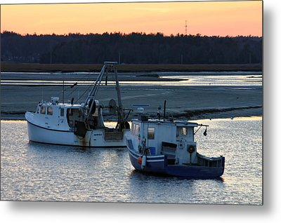 Harbor Nights Metal Print