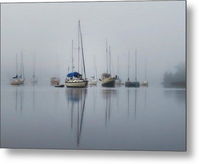 Harbor Rest Metal Print