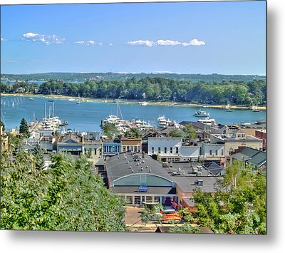 Harbor Springs Michigan Metal Print by Bill Gallagher