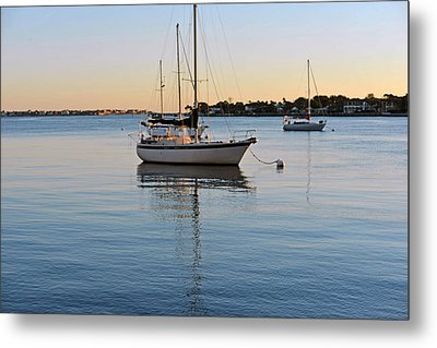 Harbor Sunrise Metal Print by Anthony Baatz