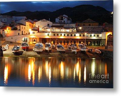 Harbour At Twilight Metal Print by Gaspar Avila