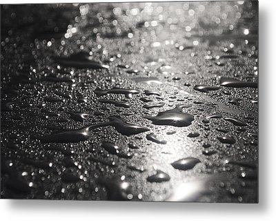 Hard And Soft Metal Print by Miguel Winterpacht