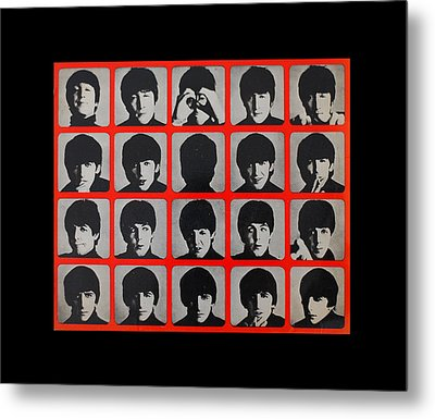 Hard Days Night Metal Print by Gina Dsgn