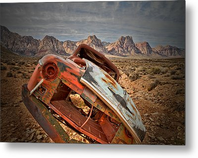 Hard Right Metal Print by Mark  Ross