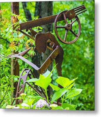 Hard Working Man Metal Print by Carolyn Marshall