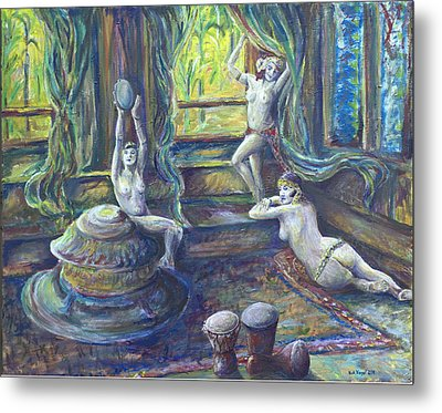 Harem Room Metal Print by Nick Vogel