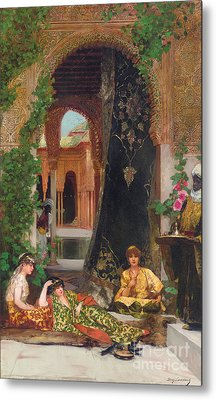 Harem Women Metal Print