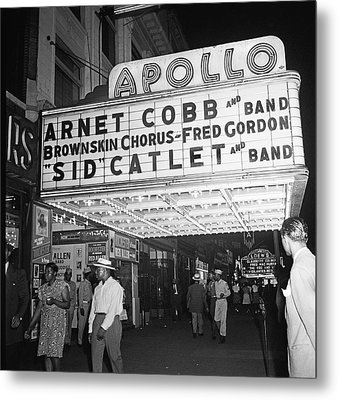 Harlem's Apollo Theater Metal Print