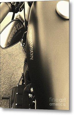 Harley Davidson Metal Print by Jessie Art