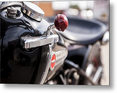 Harley Davidson Jockey Shift Metal Print