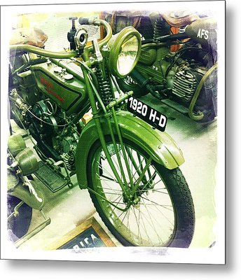 Harley Davidson Metal Print by Nina Prommer