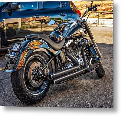 Harley Davidson Metal Print by Steve Harrington